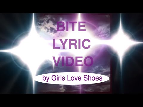 """NEW Spooky Synth Pop Single """"BITE"""" (Lyric Video) by Girls Love Shoes!!!"""